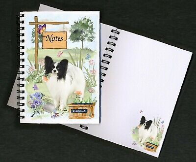 £3.99 • Buy Papillon Butterfly Dog Notebook/Notepad + Small Image On Every Page By Starprint