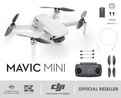 AU799 • Buy DJI Mavic Mini | Drone * OR * Fly More Combo - Full HD Smart Ultralight IN STOCK