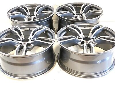 $1998 • Buy 19X8.5 9.5 FIT BMW 3-4-5-6-7 M6 Sport Style M-STYLE RIMS 19  WHEELS MACHINED GRY