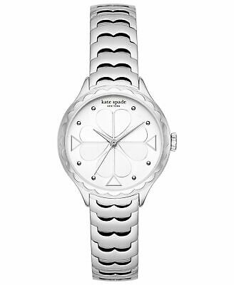 $ CDN147.38 • Buy Kate Spade New York KSW1505 Rosebank Silver Tone Scallop Stainless Steel Watch