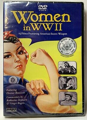 Women In WWII New Sealed DVD 2013 Topics Ent Featuring Elanor Roosevelt 13 Films • 17.03£