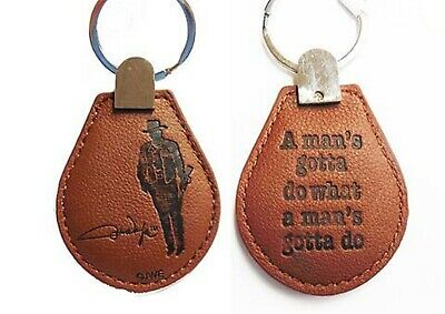 $7.50 • Buy John Wayne  Leather Key Chain