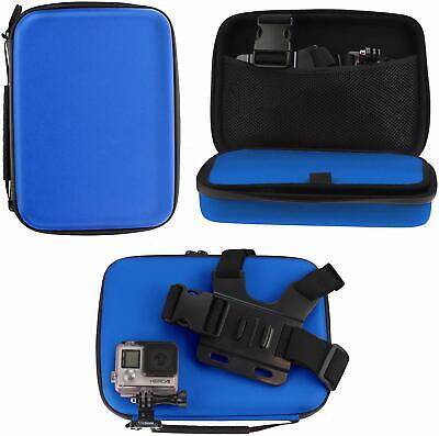 AU27.72 • Buy Navitech Blue Rugged Action Camera Hard Case For Drift HD Ghost NEW
