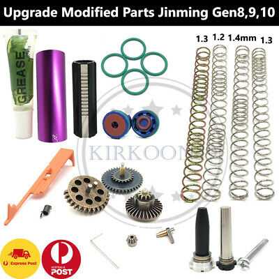 AU11.94 • Buy Gel Blaster Upgrade Gearbox Gears Bridge Ladder Spring Jinming J9 8 M4A1 J10 ACR