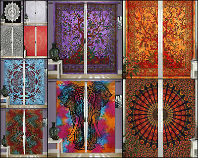 Wall Hanging Beautiful Design Cotton Small Curtain Bohemian Window Curtain Art  • 11.75£