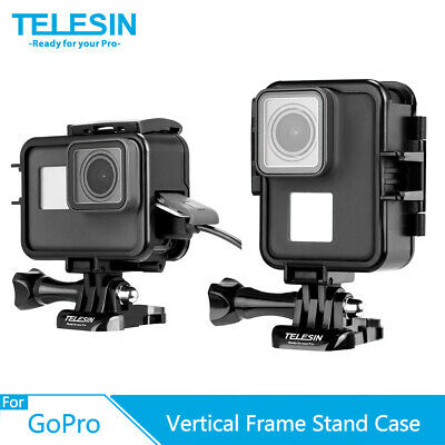 $ CDN12.35 • Buy TELESIN Horizontal & Vertical Frame Housing Stand Case For Gopro Hero 7 6 5