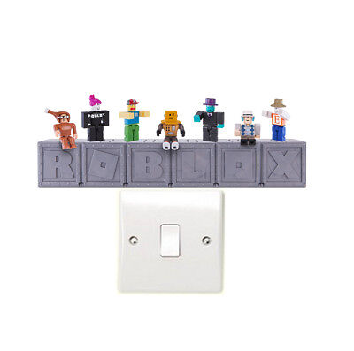 Roblox Characters Light Switch Wall Art Stickers Xbox Pc Gaming • 2.25£