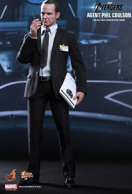 AU489 • Buy Misb Hot Toys 1/6 Marvel Avengers Mms189 Agent Phil Coulson Masterpiece Figure