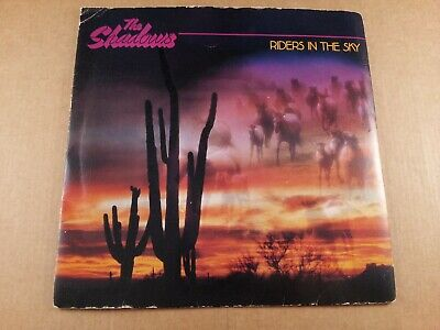 The Shadows : Riders In The Sky : Vintage 7  Vinyl Single From 1980 • 6.95£
