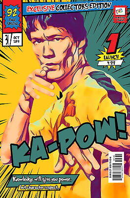 Bruce Lee Comic Book Covers Art Print (Available In 4 Formats) • 22.99£