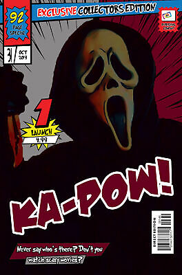 Ghostface Comic Book Covers Art Print (Available In 4 Formats) • 13.99£