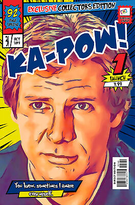 Hans Solo Comic Book Covers Art Print (Available In 4 Formats) • 13.99£