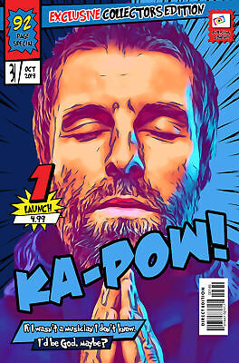 Liam Gallagher Comic Book Covers Art Print (Available In 4 Formats) • 22.99£