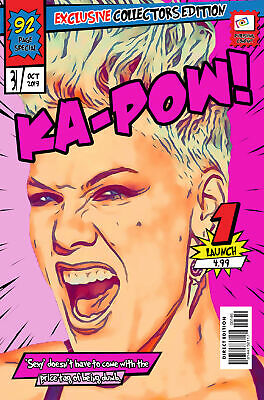 Pink Comic Book Covers Art Print (Available In 4 Formats) • 6.99£