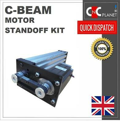 C-beam Actuator Motor Stand Off Plate Kit Nema 23 Reduction 20t 3gt Pulley Belt  • 29.95£