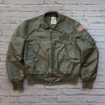 $ CDN215.16 • Buy Vintage USAF US Air Force Flyers CWU 36/P Jacket L Alpha Industries Military