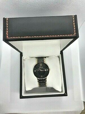 Daniel Steiger-mens Elegant-ceramic Dress Watch • 150$