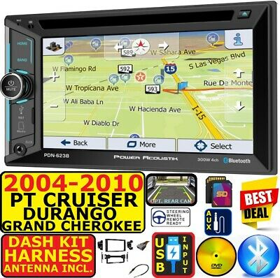 $269.99 • Buy 04-10 Pt Cruiser Durango Grand Cherokee Navigation Bluetooth Cd/dvd Car Stereo