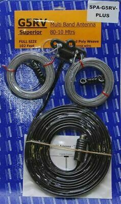 AU80.45 • Buy Full Size G5RV Antenna Easy Install Long Wire HF Antenna Amateur/Ham 102ft