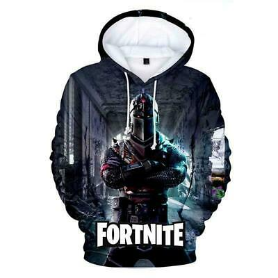$ CDN34.89 • Buy NEW 2019 Fortnight Gamer 3D SS9 Battle Royale Men Women Warm Hoodies Sweatshirts