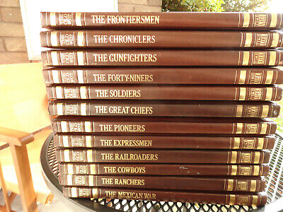 Time-Life  The Old West  Series Of Books. 24 Volumes In Good/Very Good Condition • 60£
