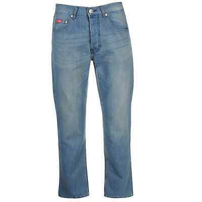 Mens Lee Cooper Regular Jeans Straight New • 14.99£