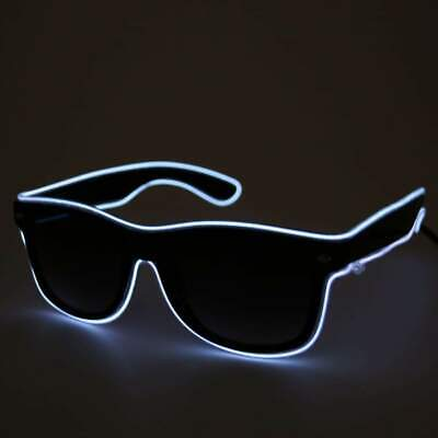 Battery Operate Glasses LED Light Up Flashing Shade Sunglasses,all Colours  • 6.99£