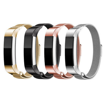 AU9.99 • Buy Luxury Milanese Stainless Steel Metal Replacement Wristband For Fitbit Alta & HR