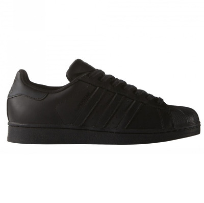$ CDN77.71 • Buy Adidas Men's Superstar Foundation Trainers Sports Shoes Sneakers Black