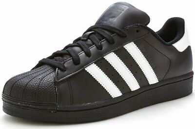 $ CDN69.07 • Buy Adidas Originals Men's Superstar Classic Trainers Sneakers Black White