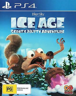 AU98 • Buy Ice Age Scrats Nutty Adventure Sony PS4 Family Kids Fun Role Playing Game