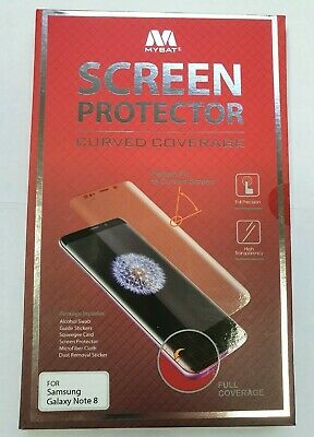 $ CDN6.99 • Buy MYBAT Screen Protector (with Curved Coverage) For Samsung Galaxy Note 8