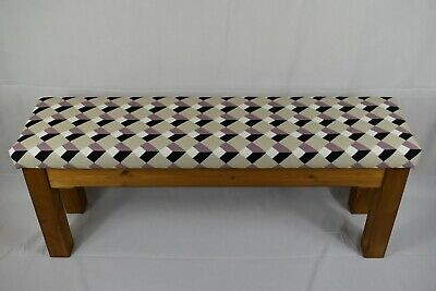 Upholstered Wooden Kitchen Dining Hallway Bench • 75£