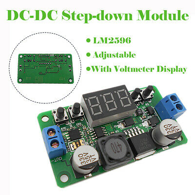 AU13.89 • Buy 1 Pc LM2596 DC-DC Buck Adjustable Step-down Power Supply Converter Module