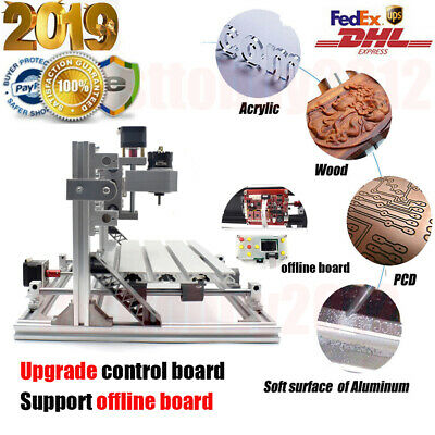 Upgrade Wood PVB Carving Engraving Machine CNC1610 / 5500mw Laser Head / Offline • 44.99£