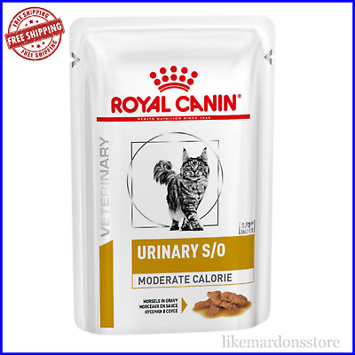 £21.85 • Buy ROYAL CANIN Veterinary Diet Cat Urinary S/O Moderate Calorie Cat Feline Wet Food