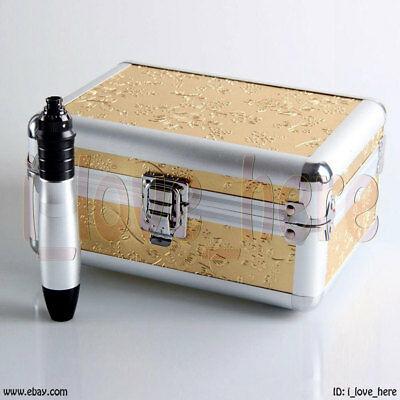 AU70.69 • Buy Electric Auto Derma Pen Stamp Micro Needle Roller For Anti Aging + 2 Cartridges