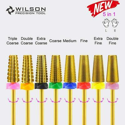 $ CDN30.58 • Buy 5 In 1 (Fastest Remove Acrylics Or Gels) - WILSON Carbide Nail Drill Bit