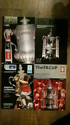 £3 • Buy FA Cup Final Programmes - 2001-2018