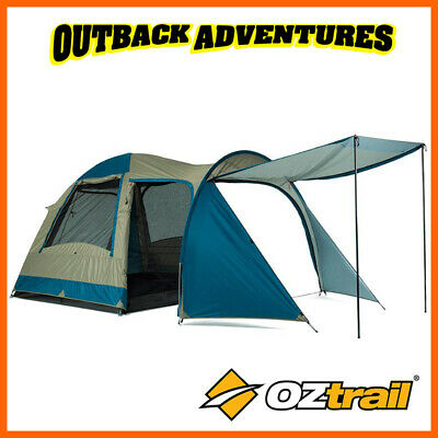 AU129 • Buy Oztrail Tasman 4v Plus Dome Tent Family Camping 4 Person Hiking Camp New Updated