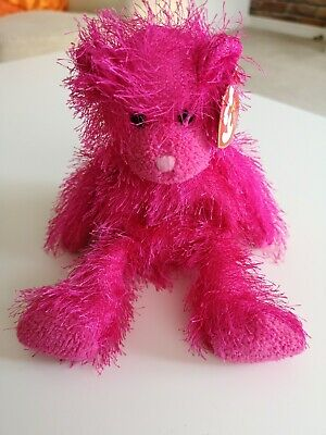TY The Punkies Collection - Shockers - Pink Bear - GC  • 5£