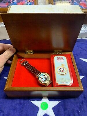 $51.99 • Buy Walt Disney Limited Edition Fossil Watch Collector Series V! Snow White! READ