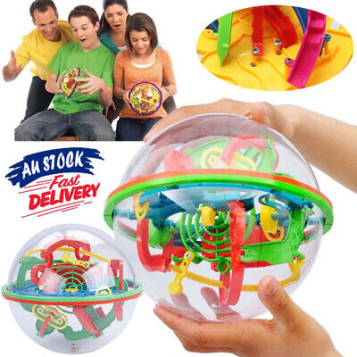 AU11.65 • Buy Classic Ball Large 3D Maze Addict Gaming Puzzle A Ball Addictaball Toys