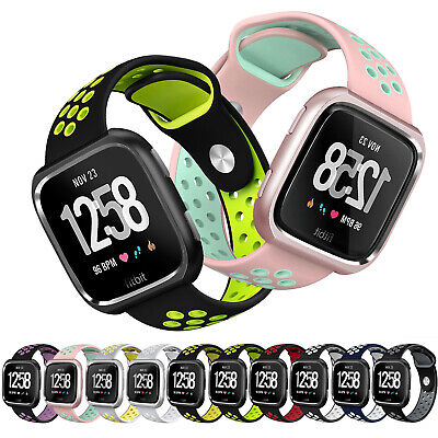 $ CDN15.47 • Buy Durable Wrist Band Strap W/Case For Fitbit Versa/ Special Edition Band Replace