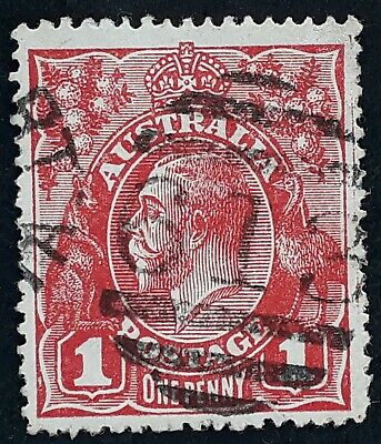 AU20 • Buy Undated Australia 1d Red KGV Stamp Numeral CDS 613 Newport Victoria Postmark