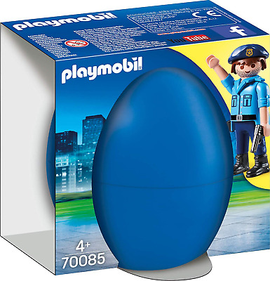 Playmobil 70085 Easter Eggs Policeman With Spotting Dog Multi-Coloured • 9.09£