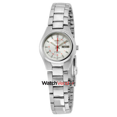 $ CDN132.99 • Buy Seiko 5  Automatic Silver Dial Stainless Steel Ladies Watch SYMC21