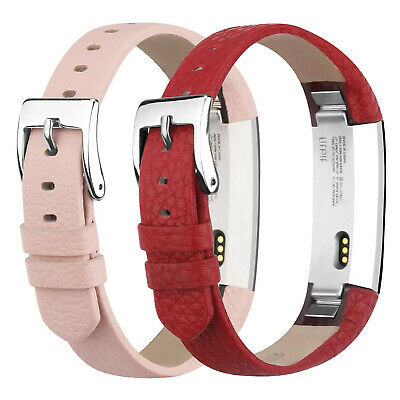AU16.29 • Buy Genuine Leather Compatible For Fitbit Alta Band And Fitbit Alta HR Bracelet Band