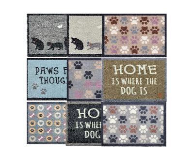 £16.99 • Buy Quality Dog Cat Door Mat Washable Hard Wearing Anti-Slip Stain Resistant