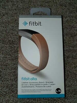 AU77.27 • Buy Fitbit Alta Accessory Band, Leather, Camel, Large